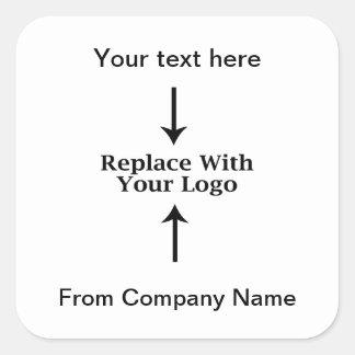 Obrigado do logotipo do negócio você etiquetas