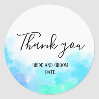 Obrigado dos noivos você etiqueta do casamento