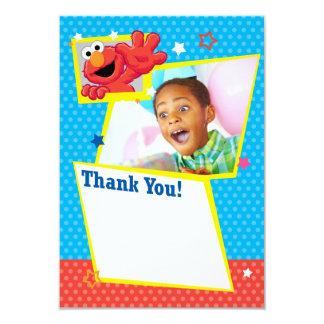 Obrigado extremo customizável de Elmo você Convite 8.89 X 12.7cm