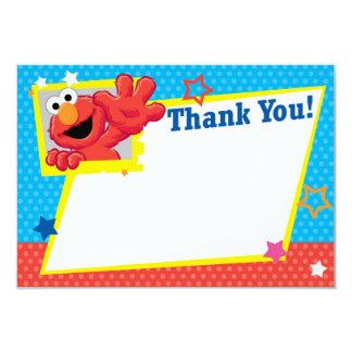 Obrigado extremo de Elmo você Convite 8.89 X 12.7cm