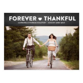 Postais de agradecimento