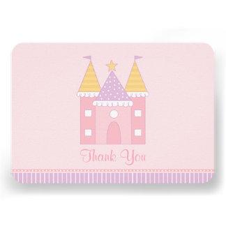 Obrigado liso você princesa Castelo do cartão de n