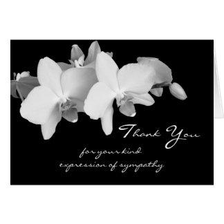 Obrigado memorável da simpatia você cartão de nota