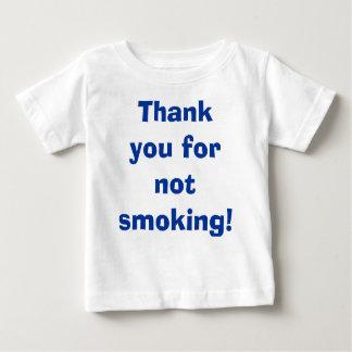 Obrigado não fumando t-shirts