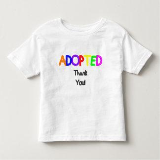Obrigado preto adotado você tshirts