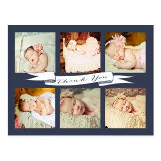Obrigado que do bebê do marinho você sorve vê o cartoes postais
