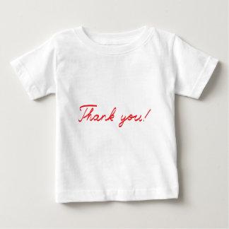 obrigado que escrito à mão você nota t-shirts
