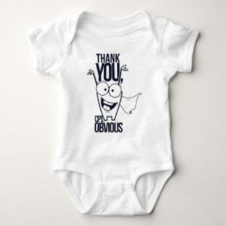 obrigado que os pct óbvios refrigeram o design tshirts