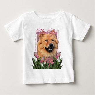 Obrigado - tulipas cor-de-rosa - comida de comida t-shirt