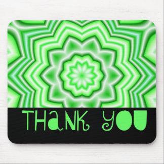 Obrigado verde mousepad