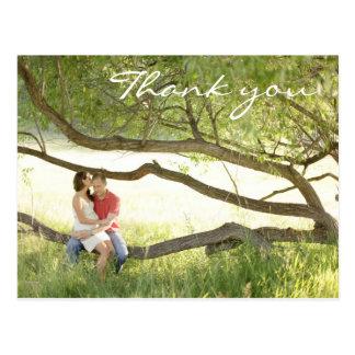 Obrigado Wedding você cartão Cartão Postal