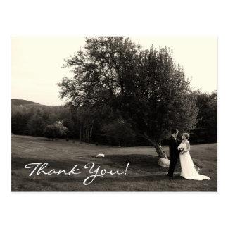 Obrigado Wedding você Cartão Postal