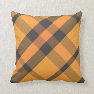 Obscuridade alaranjada - travesseiro decorativo da almofada
