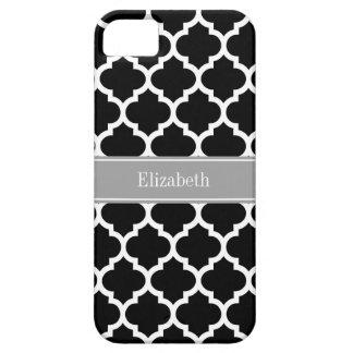 Obscuridade branca preta do marroquino #5 - capas para iPhone 5