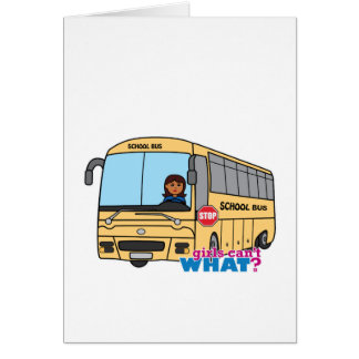 Obscuridade do motorista de auto escolar cartão comemorativo