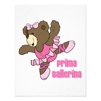 Obscuridade do urso da bailarina de Prima Convite