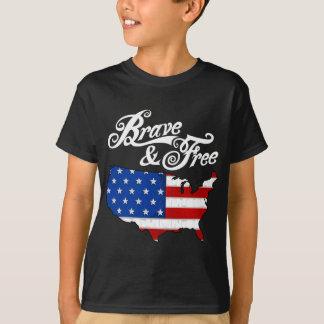 obscuridade dos EUA 2 do Dia da Independência da Camiseta