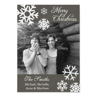 Obscuridade múltipla dos cartões de foto de Natal