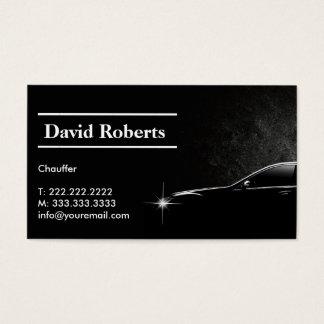 Obscuridade profissional do taxista do Chauffeur Cartão De Visita