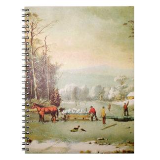 Obtendo o caderno do gelo