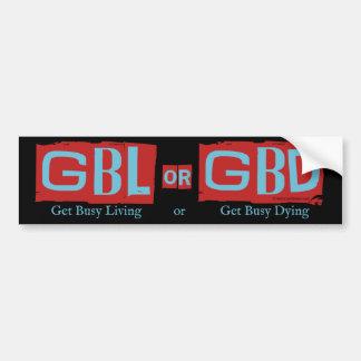 Obtenha a vida ou o GBD ocupado Adesivo Para Carro