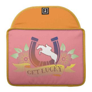 Obtenha o caso afortunado capa para MacBook