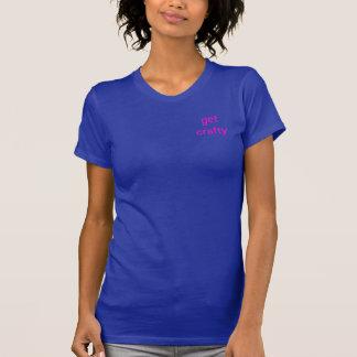 Obtenha o Tshirt esperto para mulheres