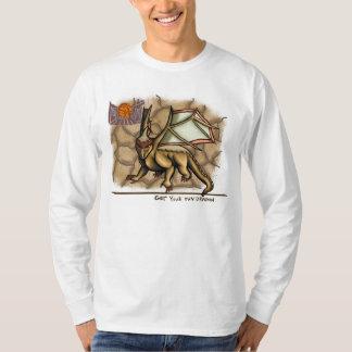 Obtenha seu próprio t-shirt da terra do topázio do
