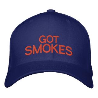 OBTIDO FUMA - o boné de beisebol customizável