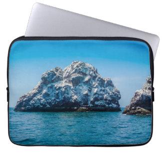 Oceano azul brilhante de Mazatlán Sinaloa México Capa Para Laptop