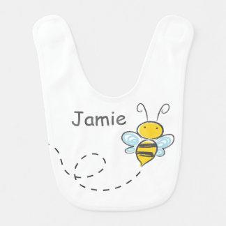 Ocupado Bumble a abelha Babadores Para Bebes