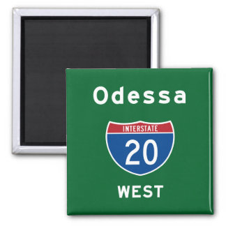 Odessa 20 ímã quadrado