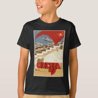 Odessa, Odesa, viagens vintage de Ucrânia T-shirt