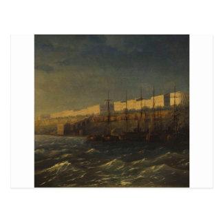 Odessa por Ivan Aivazovsky Cartão Postal