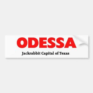 Odessa, Texas Adesivo Para Carro