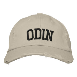 Odin bordou o chapéu bonés bordados