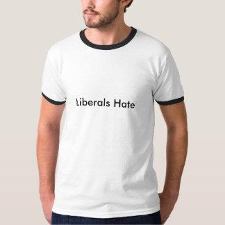 Ódio dos liberais t-shirts