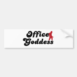 office goddess adesivo para carro
