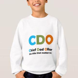 Oficial principal do pai tshirts