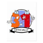 Oficialmente bandeira de 31 aniversários cartões postais