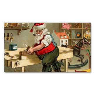 Oficina do Natal de Papai Noel do vintage