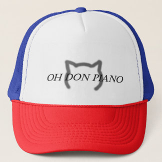 Oh chapéu do piano de Don Boné
