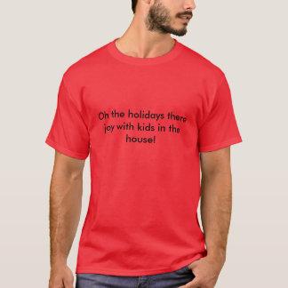 Oh dos feriados a alegria lá com os miúdos na t-shirt