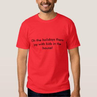 Oh dos feriados a alegria lá com os miúdos na tshirts