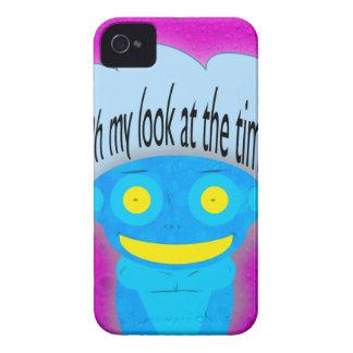 Oh meu olhar naquele tempo! capas iPhone 4 Case-Mate