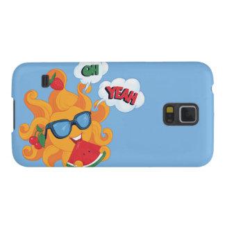 Oh! Yeah! é verão Capa Para Galaxy S5