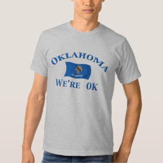 Oklahoma - nós somos APROVADOS T-shirts