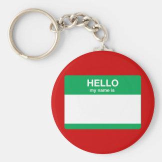 Olá!, meu nome é chaveiro