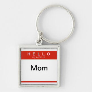 Olá! meu nome é corrente chave da mamã chaveiro