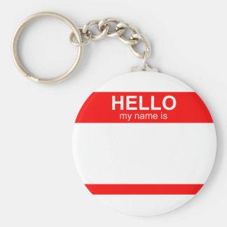 Olá! meu nome é flexível chaveiro
